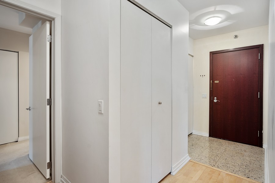 Real Estate Photography - 33 W. Ontario, 26H, Chicago, IL, 60654 - Hallway