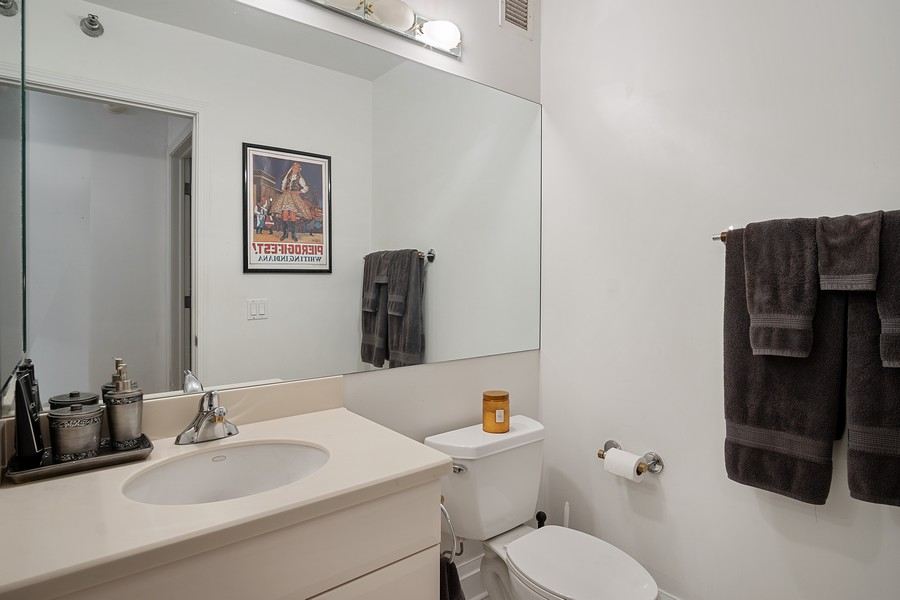 Real Estate Photography - 33 W. Ontario, 26H, Chicago, IL, 60654 - Bathroom