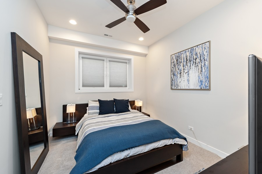 Real Estate Photography - 1441 W. Blackhawk #1E, Chicago, IL, 60642 - 2nd Bedroom