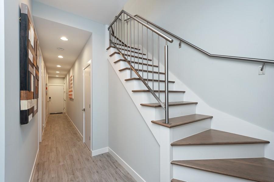 Real Estate Photography - 1441 W. Blackhawk #1E, Chicago, IL, 60642 - Hallway