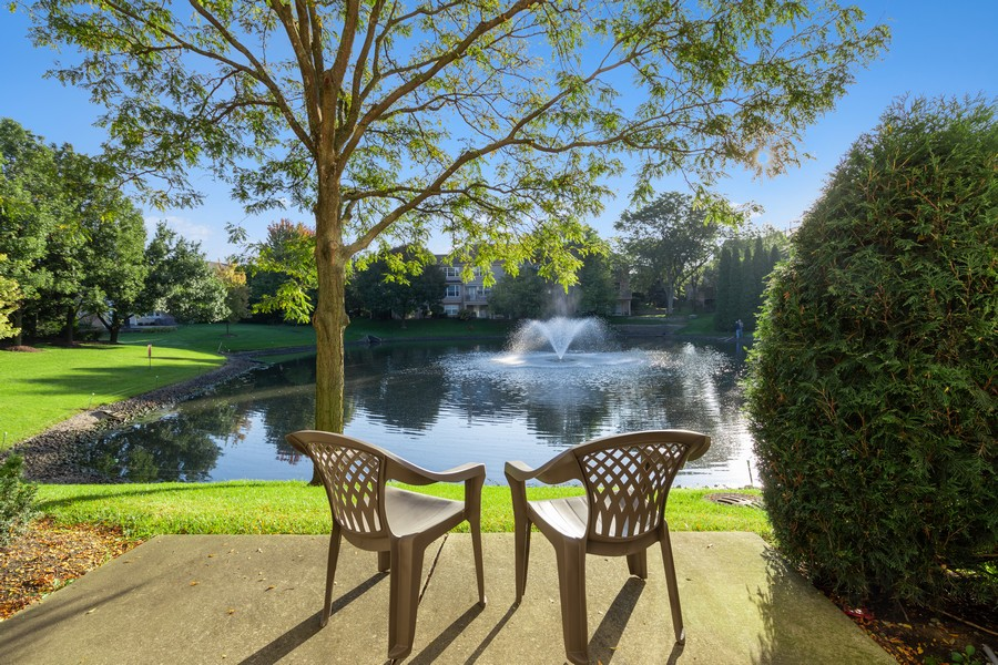 Real Estate Photography - 6211 Edgebrook Lane West, Indian Head Park, IL, 60525 - Private Patio with Gorgeous View