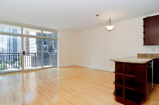 Real Estate Photography - 21 W Chestnut St, Unit 804, Chicago, IL, 60610 - Living Room