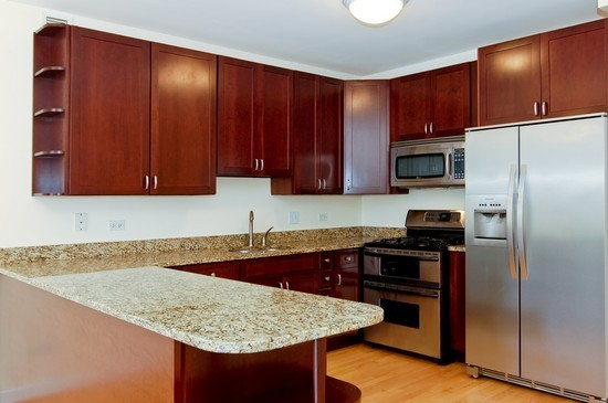 Real Estate Photography - 21 W Chestnut St, Unit 804, Chicago, IL, 60610 - Kitchen