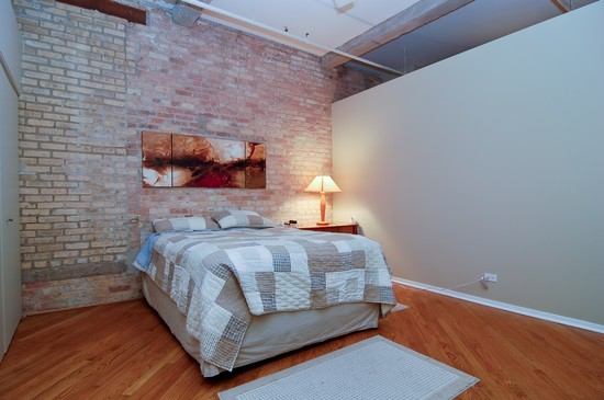 Real Estate Photography - 375 W Erie St, Unit 423, Chicago, IL, 60654 - Bedroom
