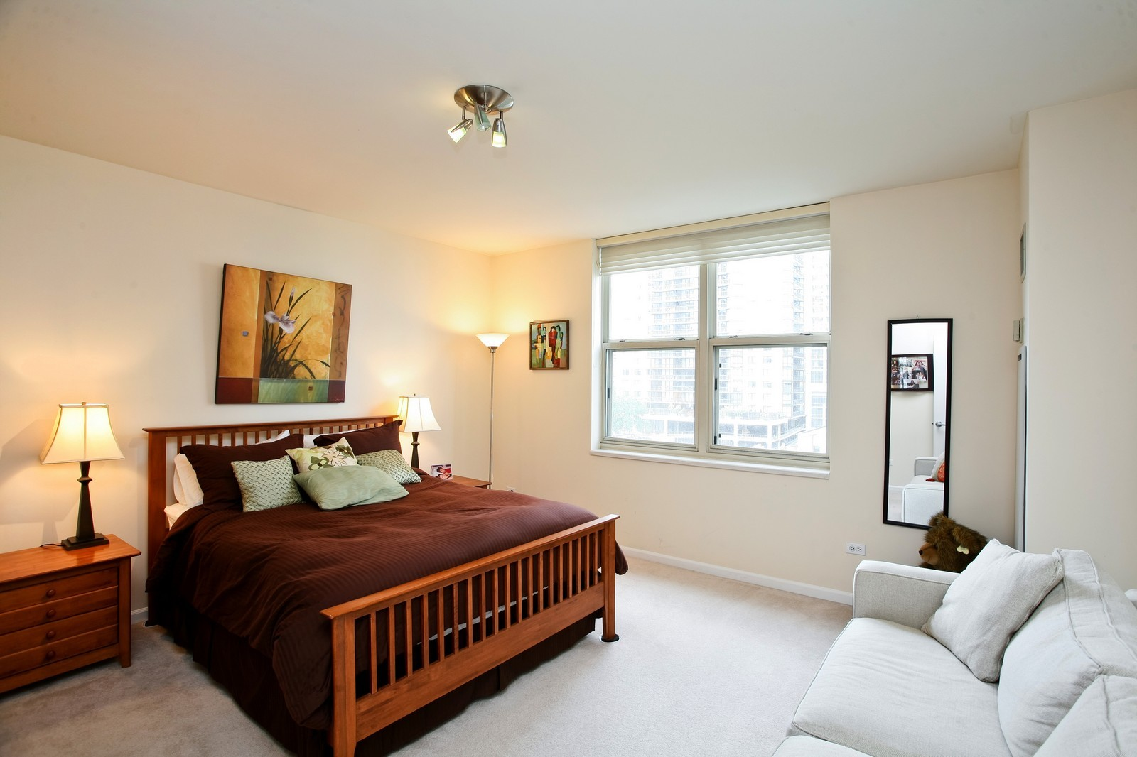 Real Estate Photography - 21 W Chestnut, Unit 809, Chicago, IL, 60610 - Master Bedroom