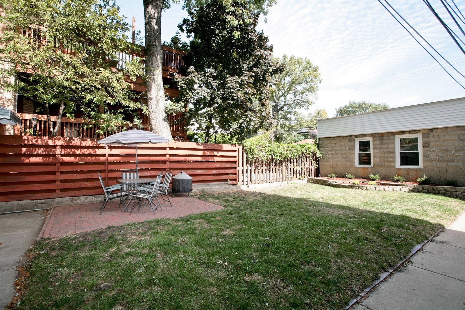 Real Estate Photography - 4113 N Ashland, Chicago, IL, 60613 - Back Yard