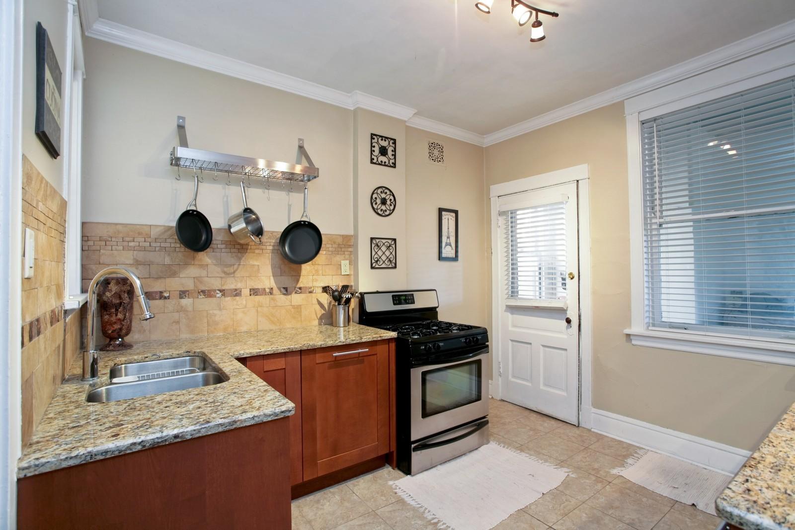 Real Estate Photography - 4113 N Ashland, Chicago, IL, 60613 - Kitchen