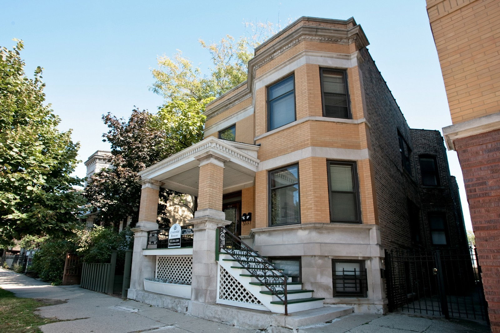 Real Estate Photography - 4113 N Ashland, Chicago, IL, 60613 - Front View