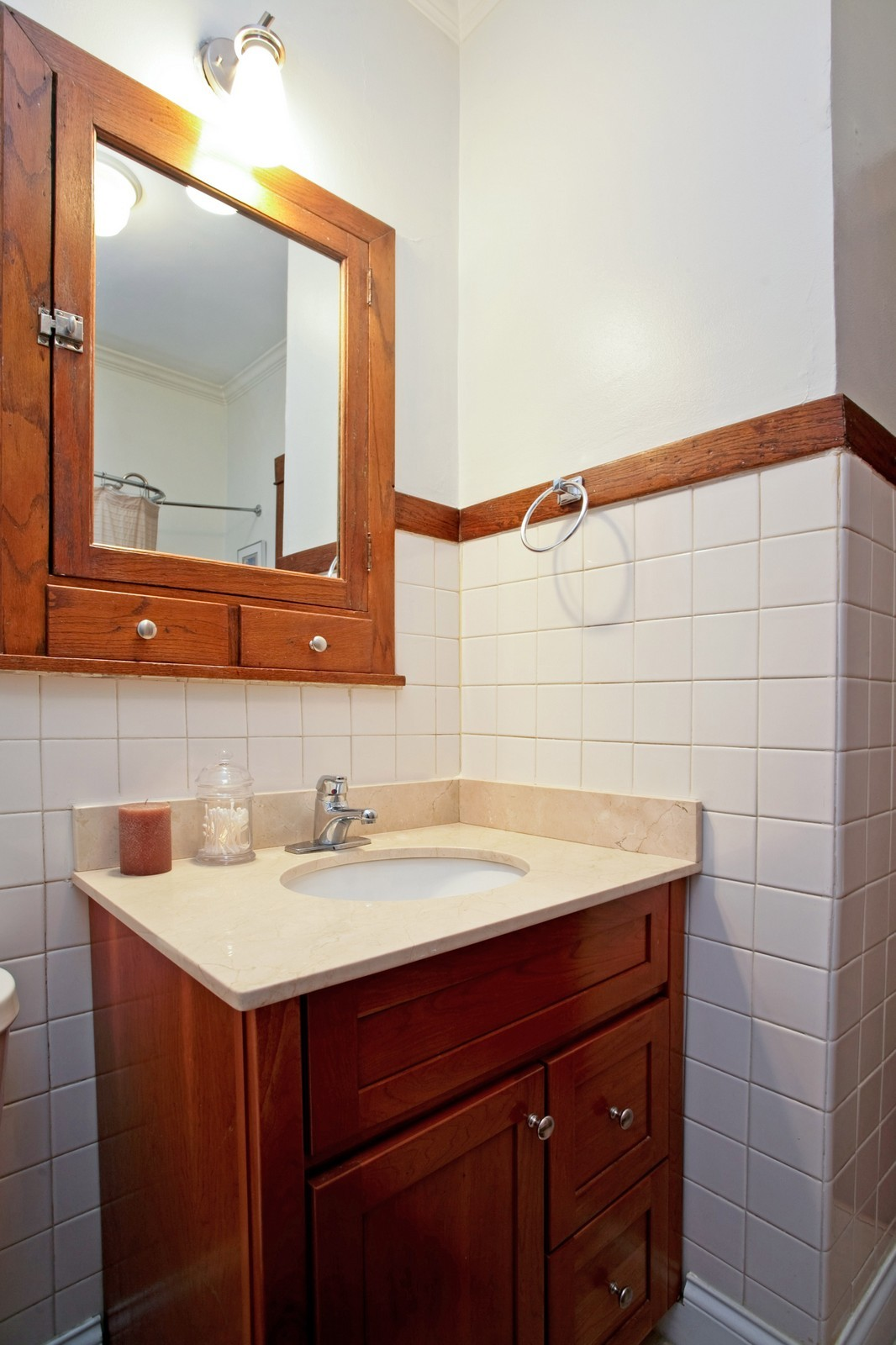 Real Estate Photography - 4113 N Ashland, Chicago, IL, 60613 - 2nd Bathroom