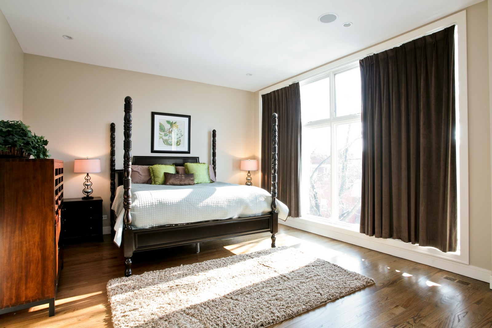 Real Estate Photography - 2340 W Ohio, Chicago, IL, 60612 - Master Bedroom