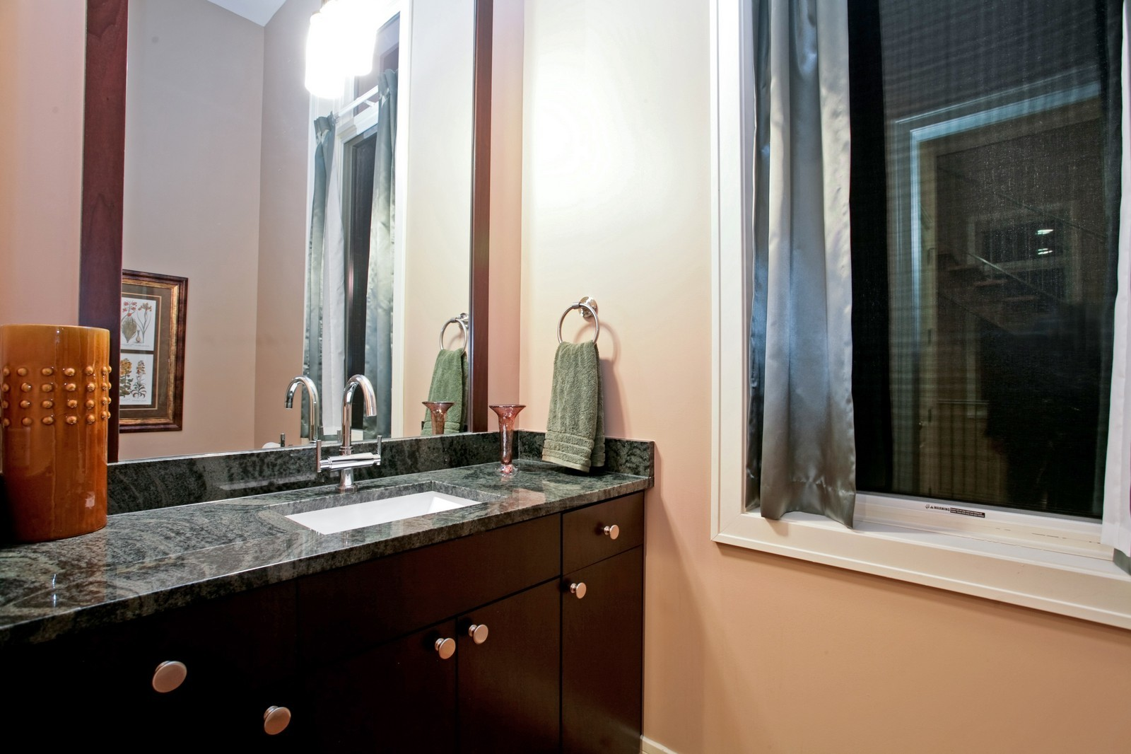 Real Estate Photography - 2340 W Ohio, Chicago, IL, 60612 - 2nd Bathroom