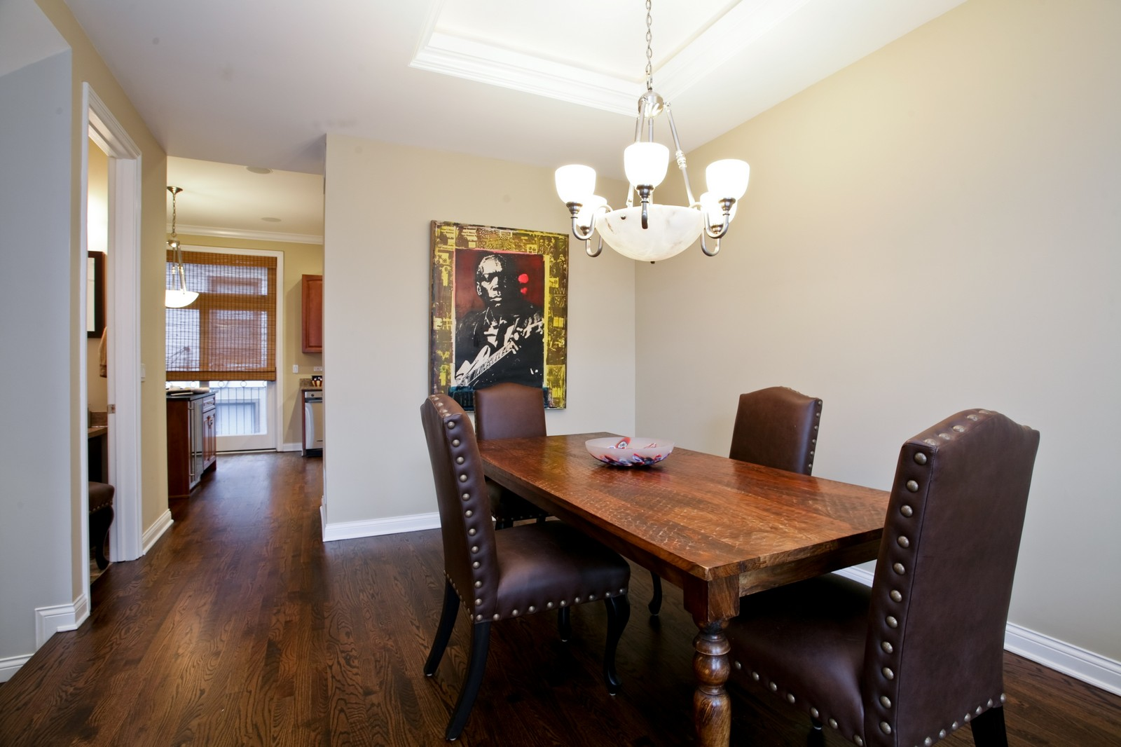 Real Estate Photography - 942 W Hubbard, Chicago, IL, 60622 - Dining Room