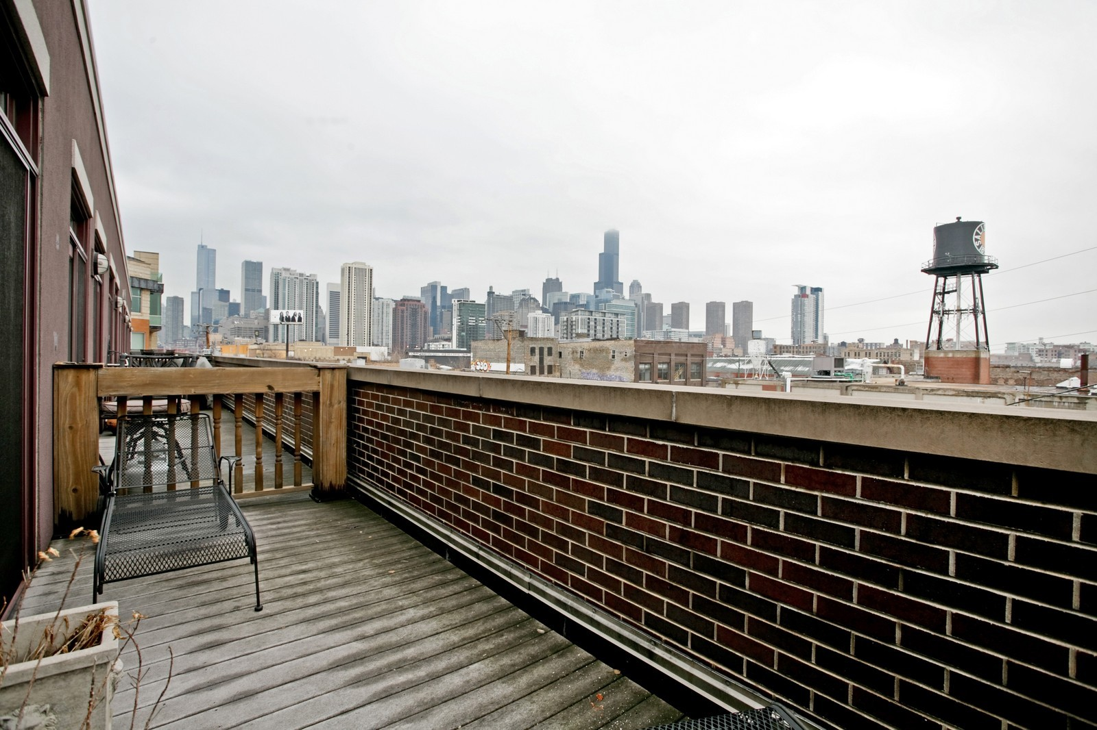 Real Estate Photography - 942 W Hubbard, Chicago, IL, 60622 - Balcony