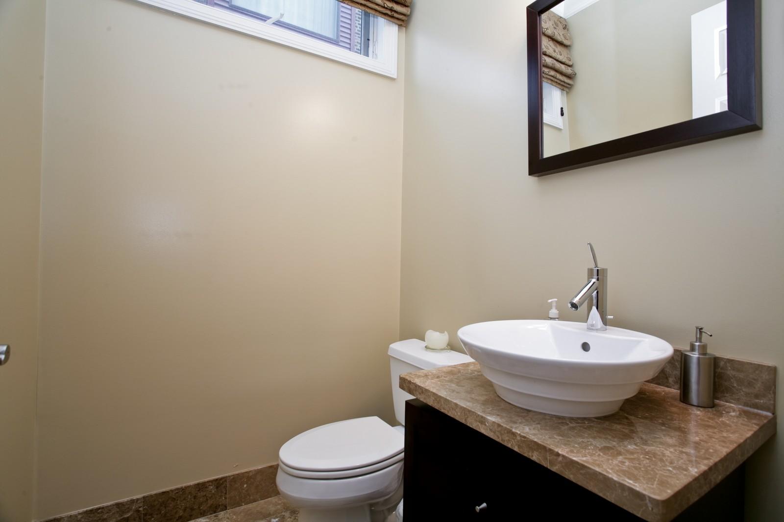 Real Estate Photography - 942 W Hubbard, Chicago, IL, 60622 - Half Bath