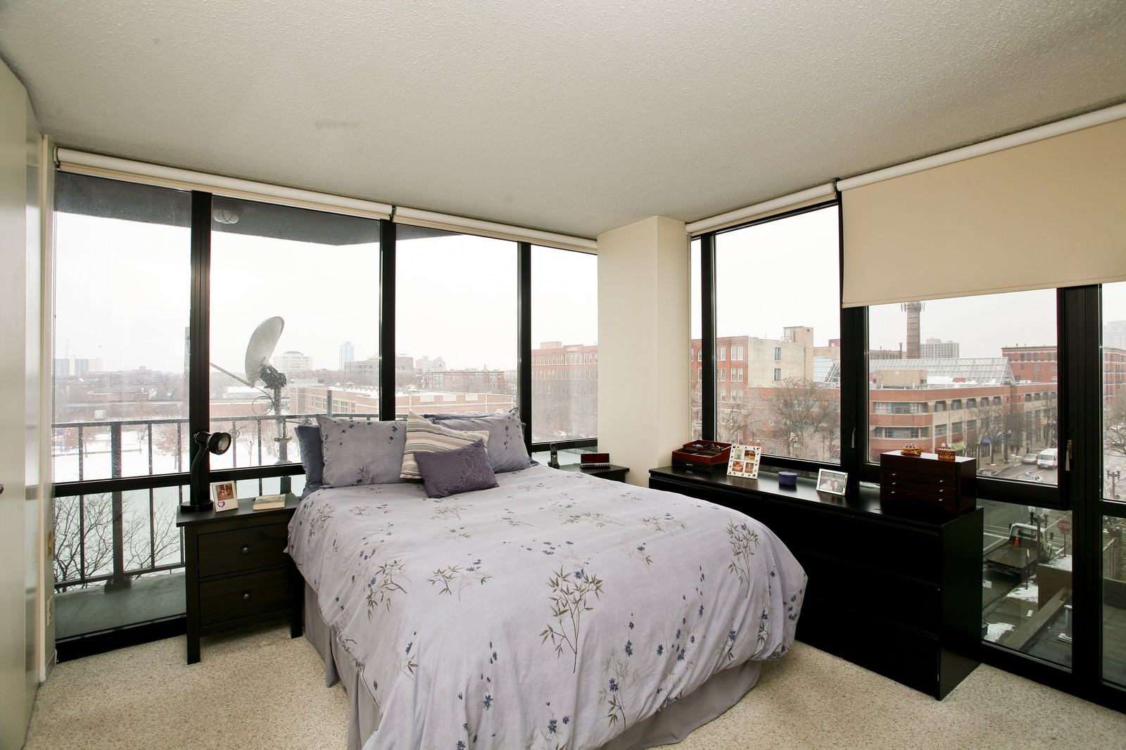 Real Estate Photography - 1309 N Wellls, Unit 501, Chicago, IL, 60654 - Master Bedroom
