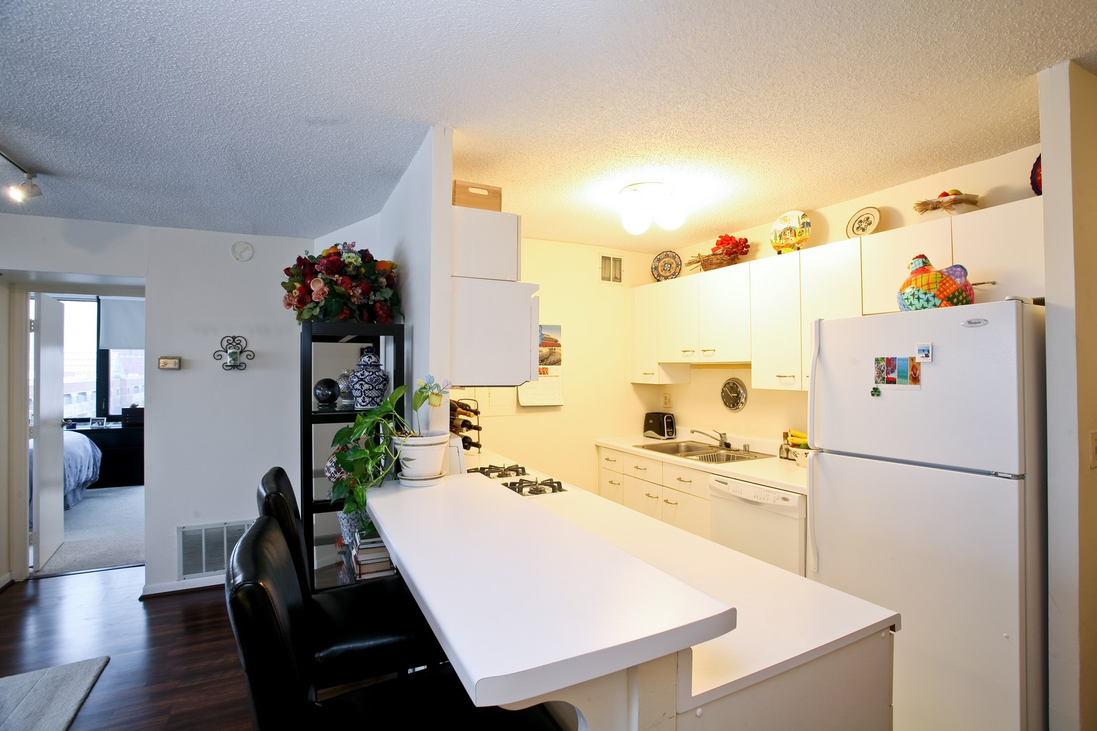 Real Estate Photography - 1309 N Wellls, Unit 501, Chicago, IL, 60654 - Kitchen