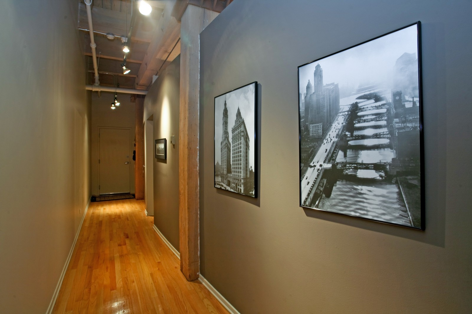 Real Estate Photography - 375 W Erie, Unit 305, Chicago, IL, 60654 - Hallway