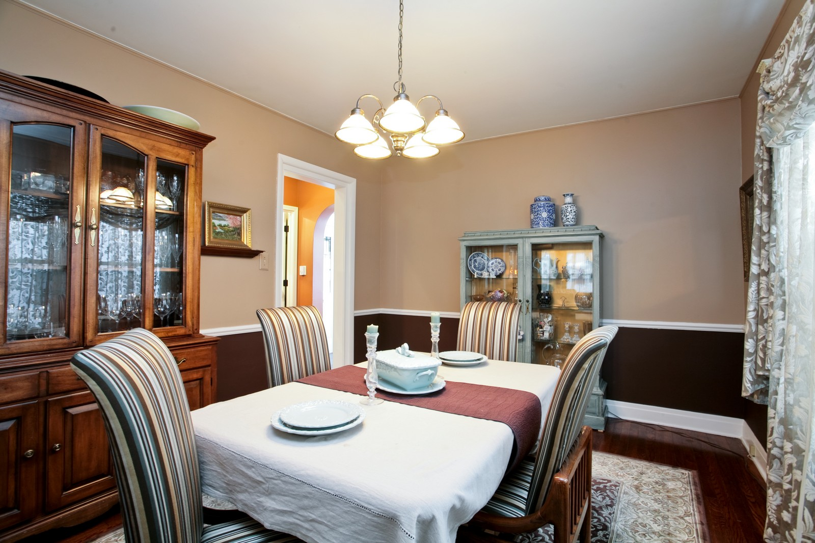 Real Estate Photography - 4549 N Springfield, Chicago, IL, 60625 - Dining Room