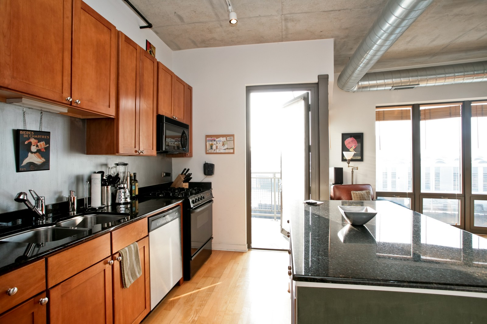 Real Estate Photography - 1000 N Kingsbury, Unit 301, Chicago, IL, 60654 - Location 2