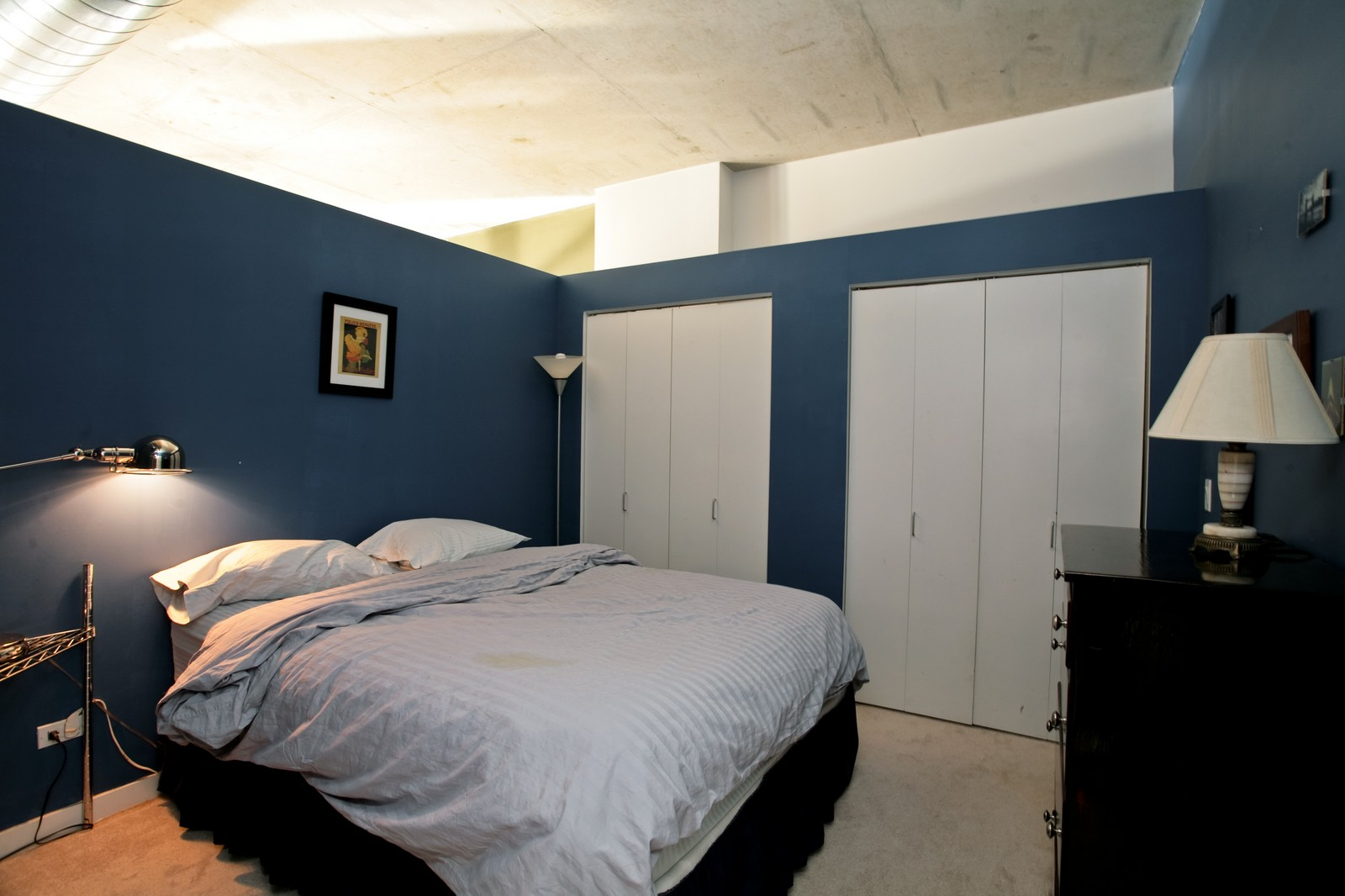 Real Estate Photography - 1000 N Kingsbury, Unit 301, Chicago, IL, 60654 - Bedroom