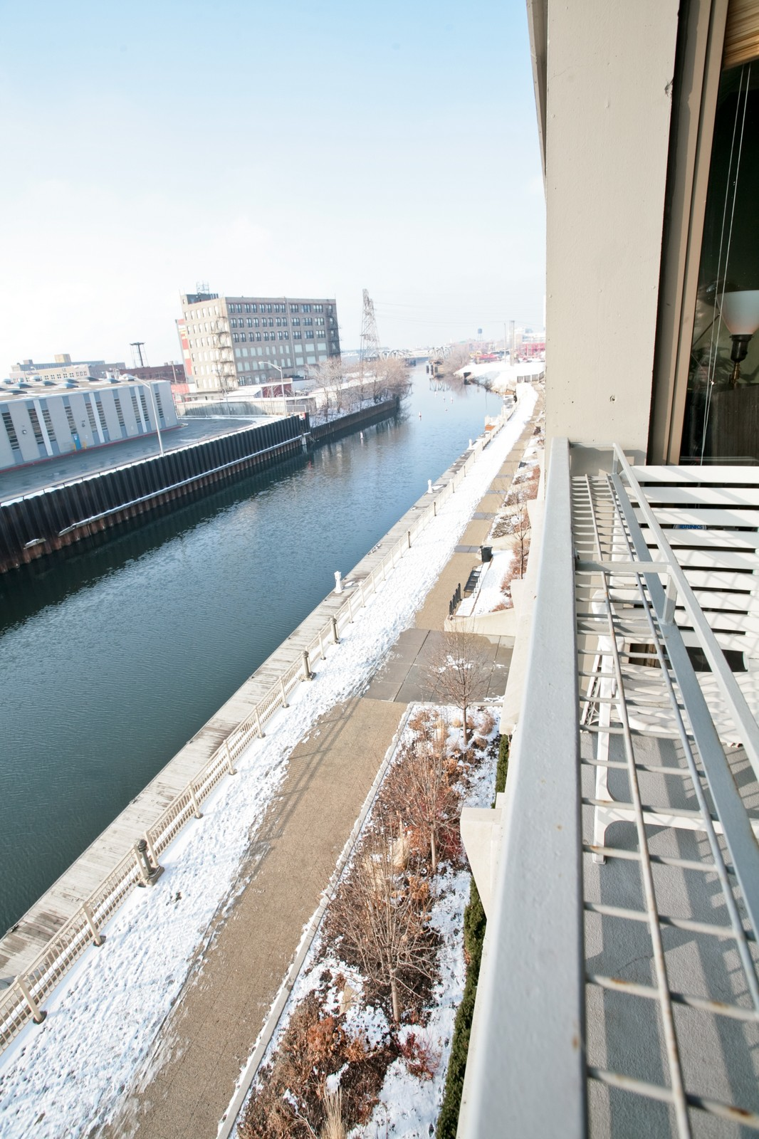 Real Estate Photography - 1000 N Kingsbury, Unit 301, Chicago, IL, 60654 - Balcony