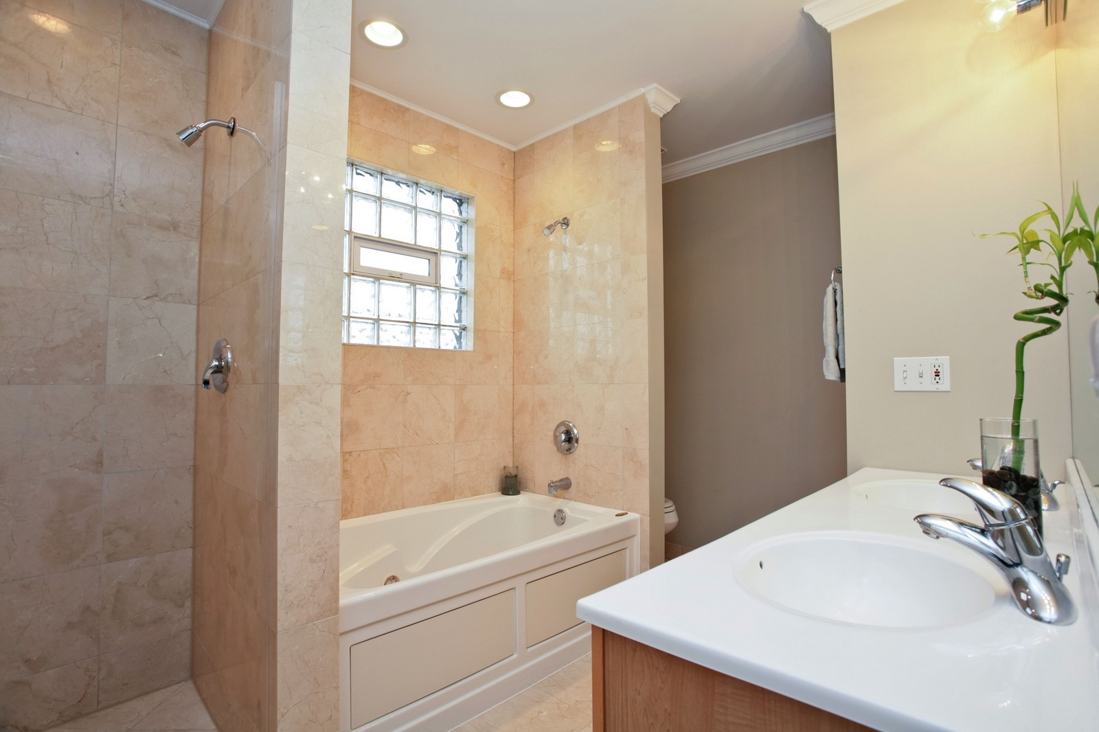 Real Estate Photography - 1700 W Chicago Ave, Unit B, Chicago, IL, 60622 - Master Bathroom