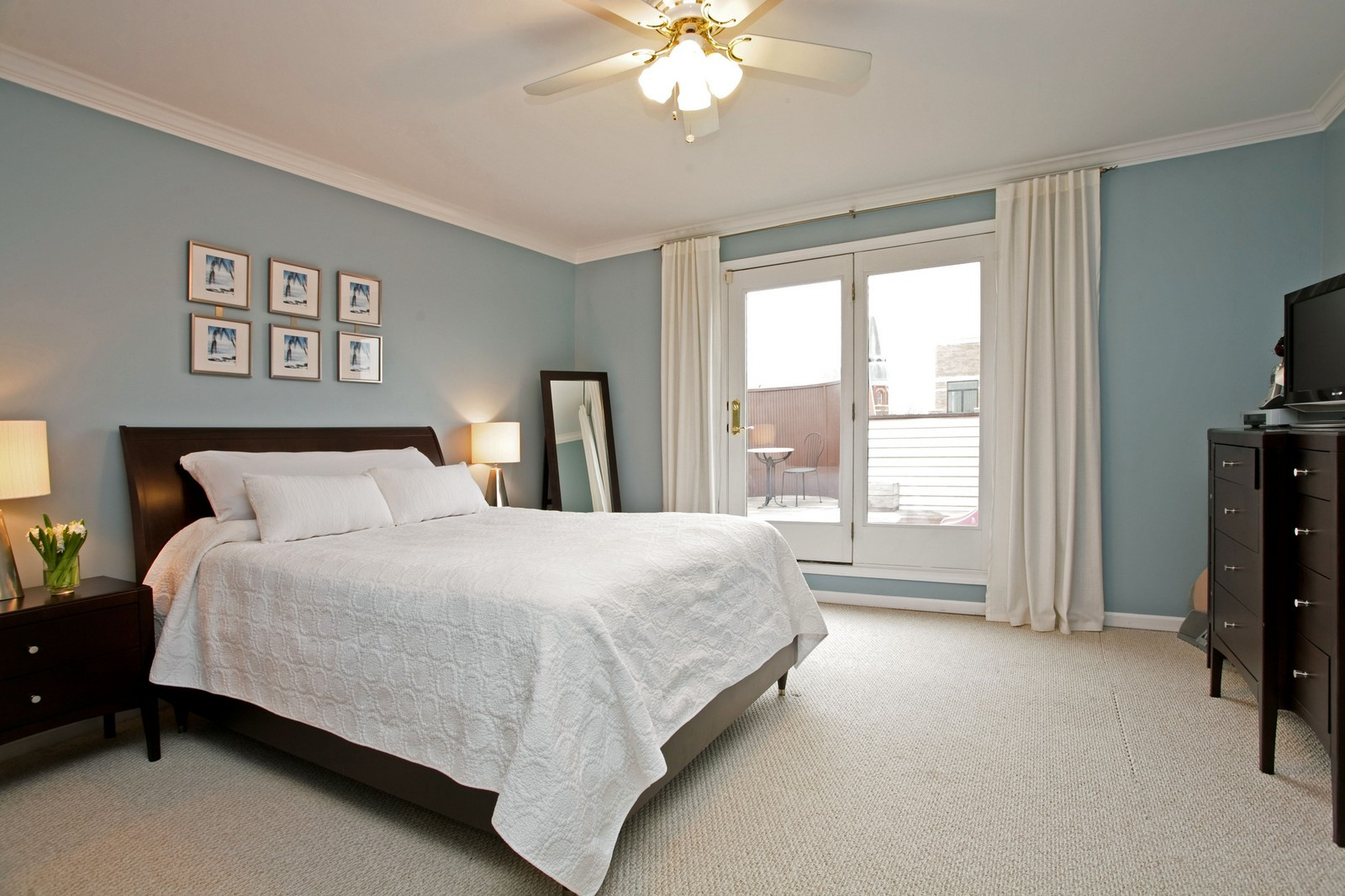 Real Estate Photography - 1700 W Chicago Ave, Unit B, Chicago, IL, 60622 - Master Bedroom