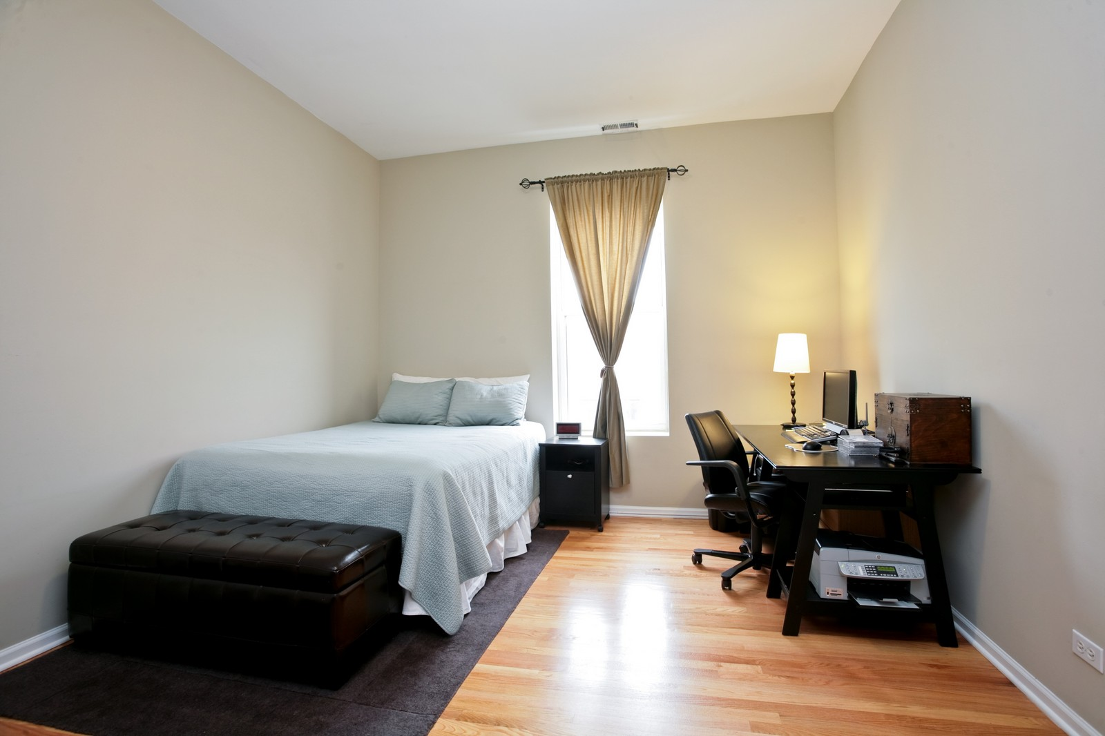 Real Estate Photography - 1700 W Chicago Ave, Unit B, Chicago, IL, 60622 - 2nd Bedroom