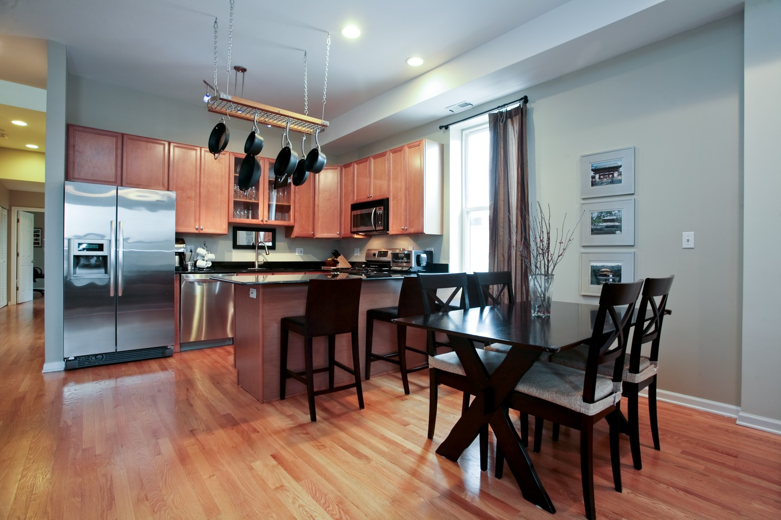 Real Estate Photography - 1700 W Chicago Ave, Unit B, Chicago, IL, 60622 - Dining Room