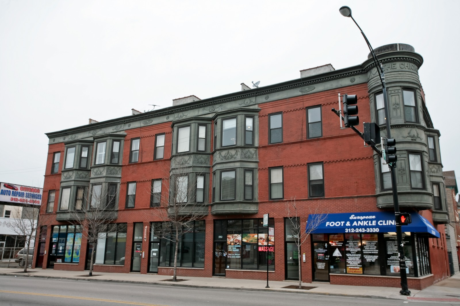 Real Estate Photography - 1700 W Chicago Ave, Unit B, Chicago, IL, 60622 - Front View