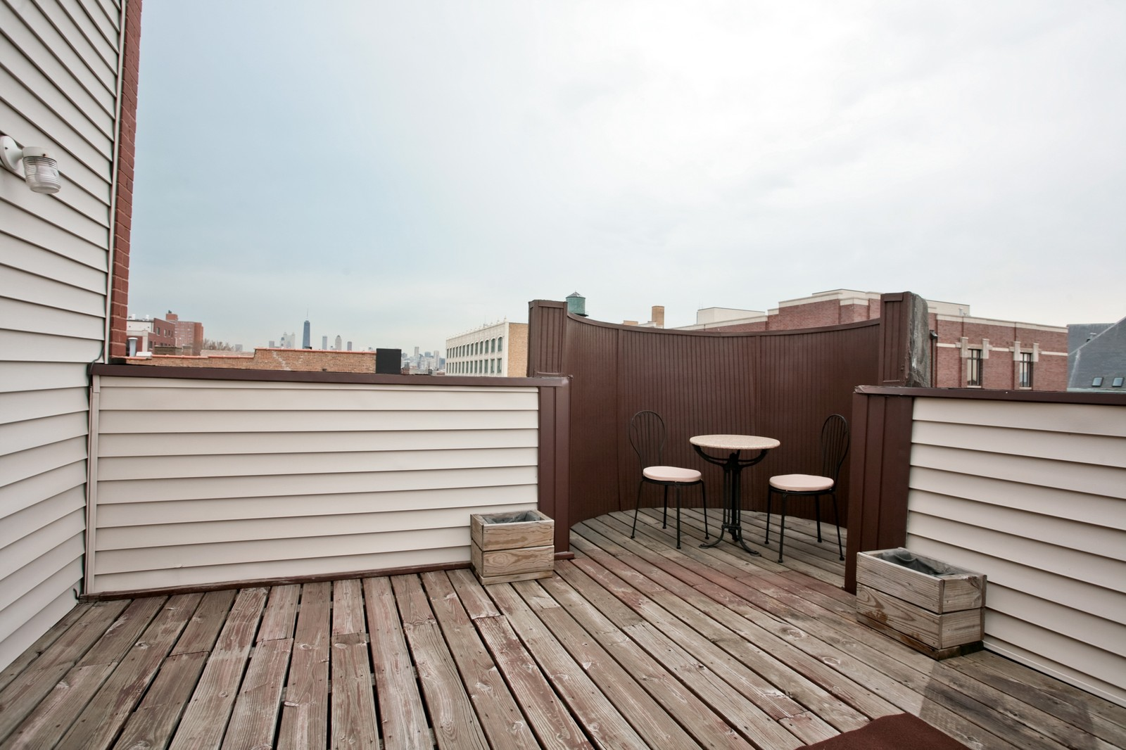 Real Estate Photography - 1700 W Chicago Ave, Unit B, Chicago, IL, 60622 - Balcony