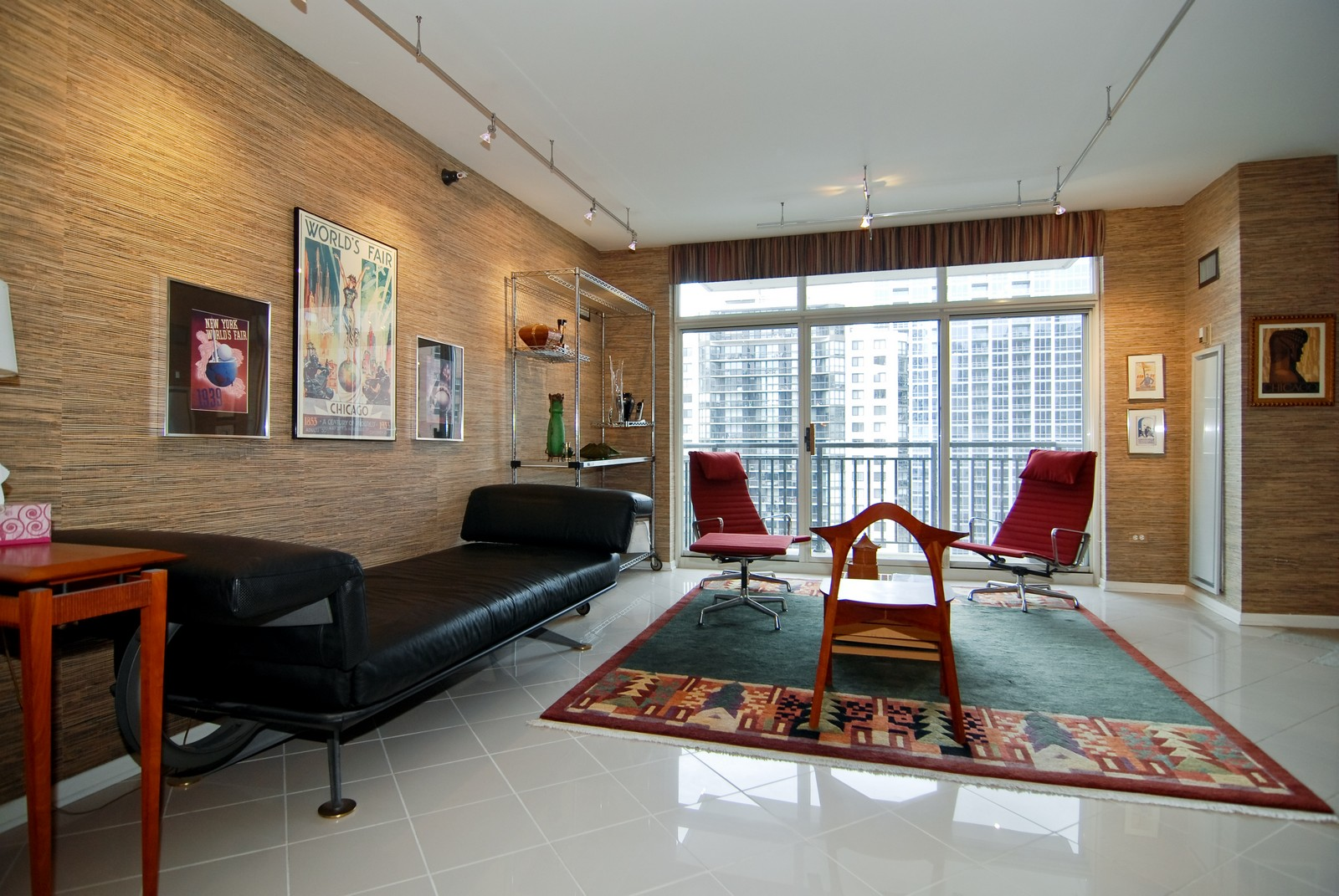 Real Estate Photography - 21 W Chestnut, Unit 1601, Chicago, IL, 60610 - Living Room