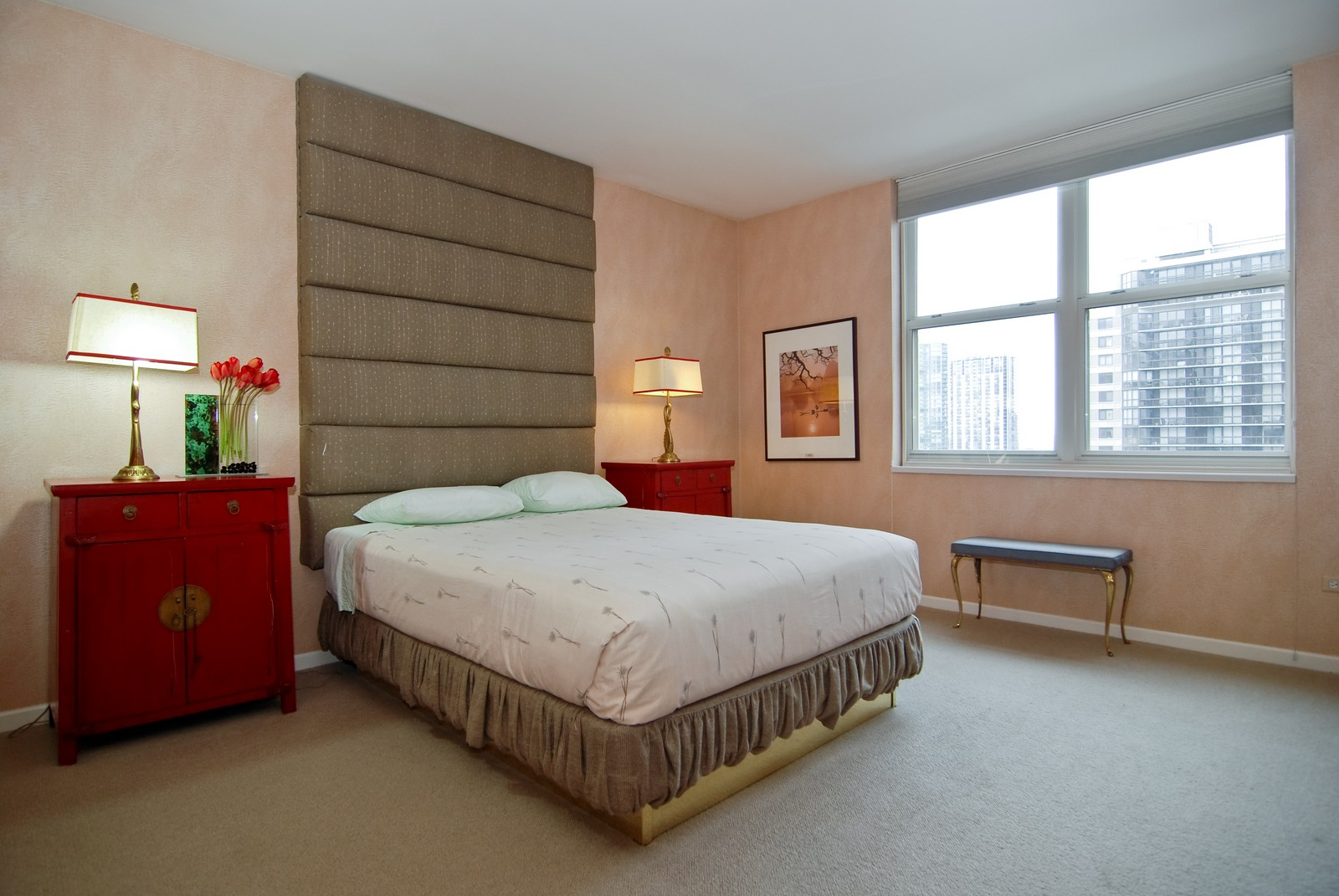 Real Estate Photography - 21 W Chestnut, Unit 1601, Chicago, IL, 60610 - Master Bedroom