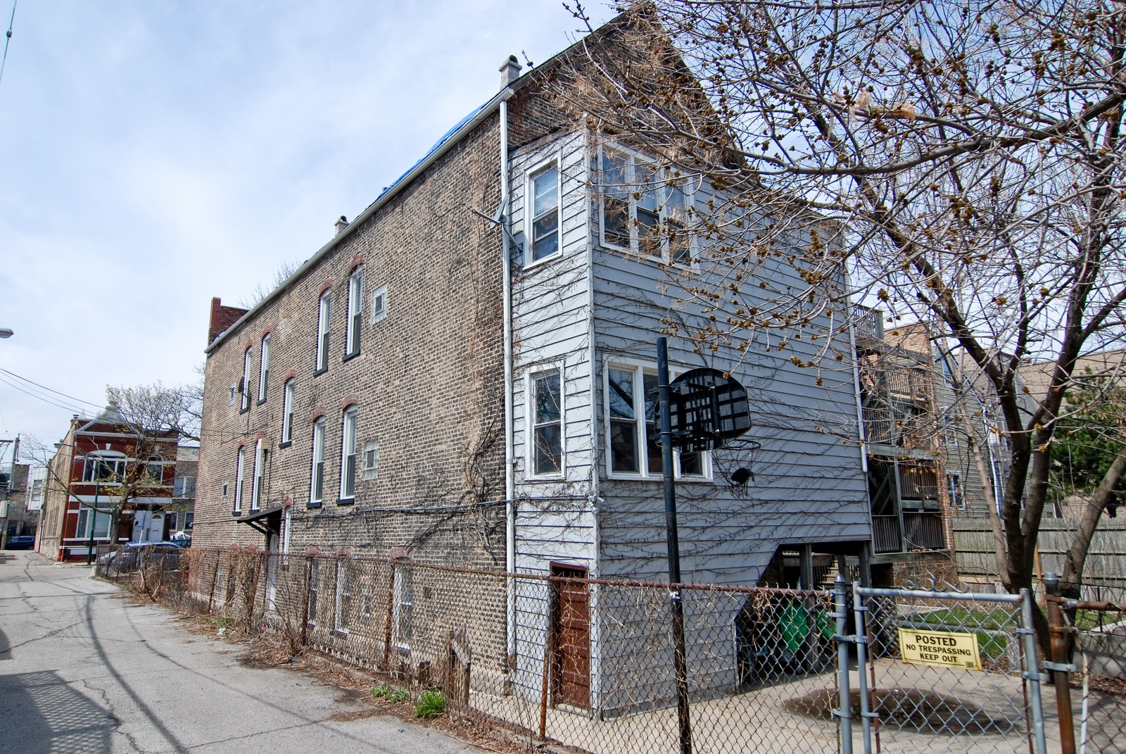 Real Estate Photography - 1711 N Windchester, Chicago, IL, 60622 - Rear View