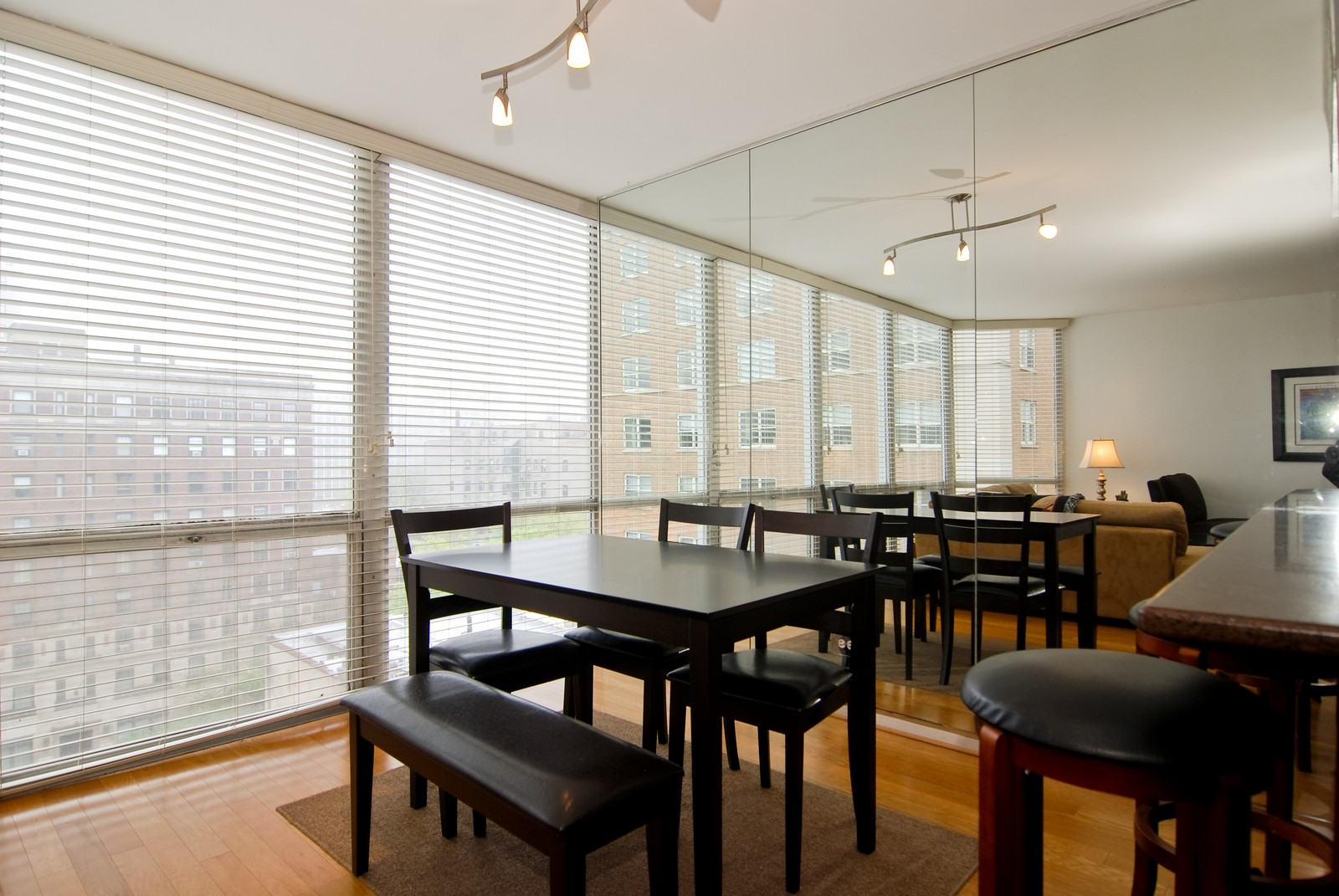 Real Estate Photography - 21 W Goethe, Unit 9F, Chicago, IL, 60610 - Dining Room