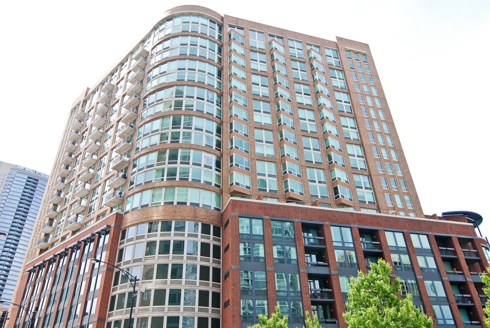 Real Estate Photography - 600 N Kingsbury, Unit 903, Chicago, IL, 60654 - Front View