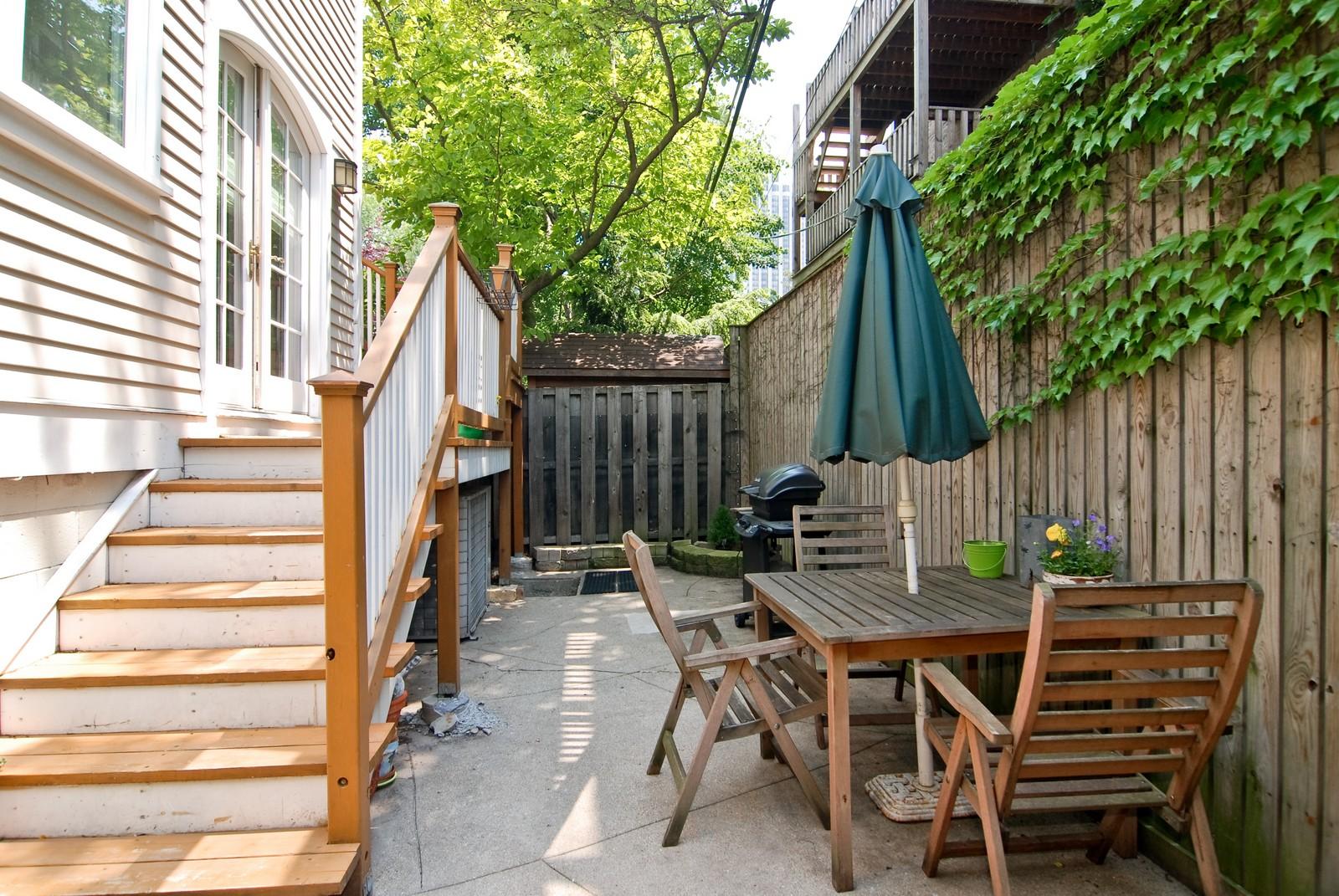 Real Estate Photography - 343 W Menomonee, Chicago, IL, 60614 - Rear View
