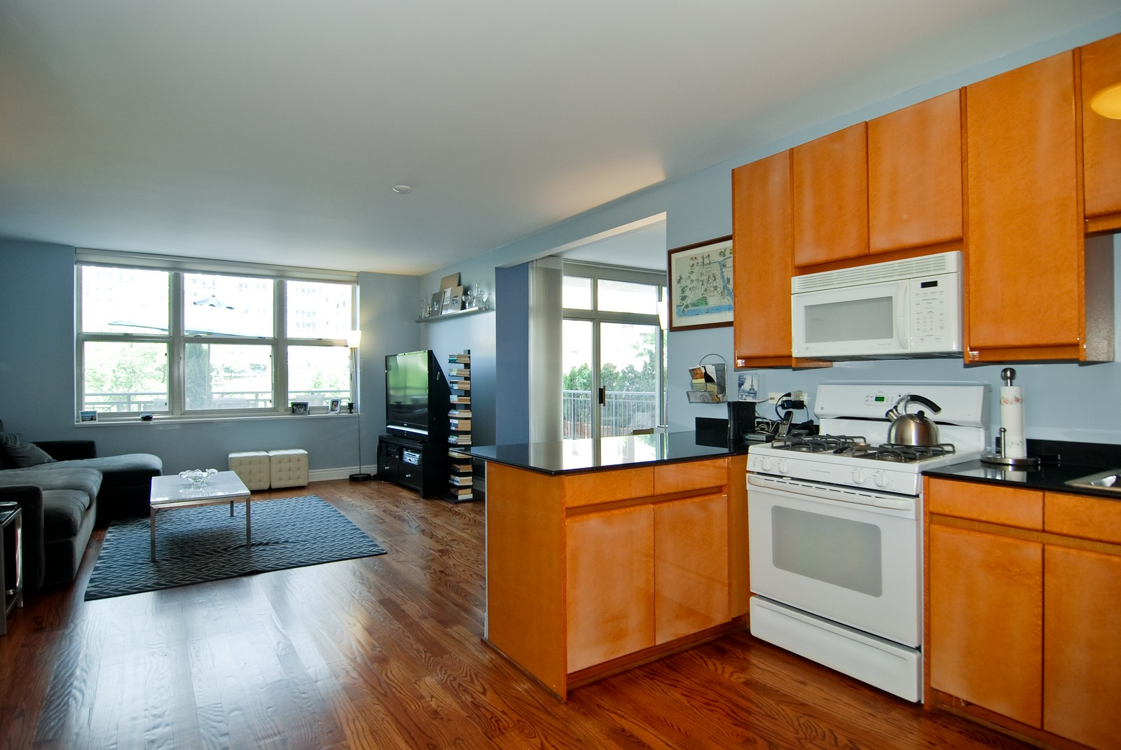 Real Estate Photography - 21 W Chestnut, Unit 505, Chicago, IL, 60611 - Kitchen