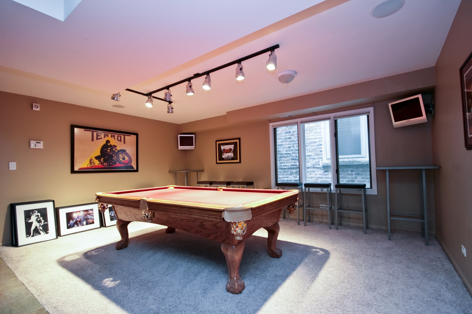 Real Estate Photography - 535 N Wood, Chicago, IL, 60622 - Gameroom