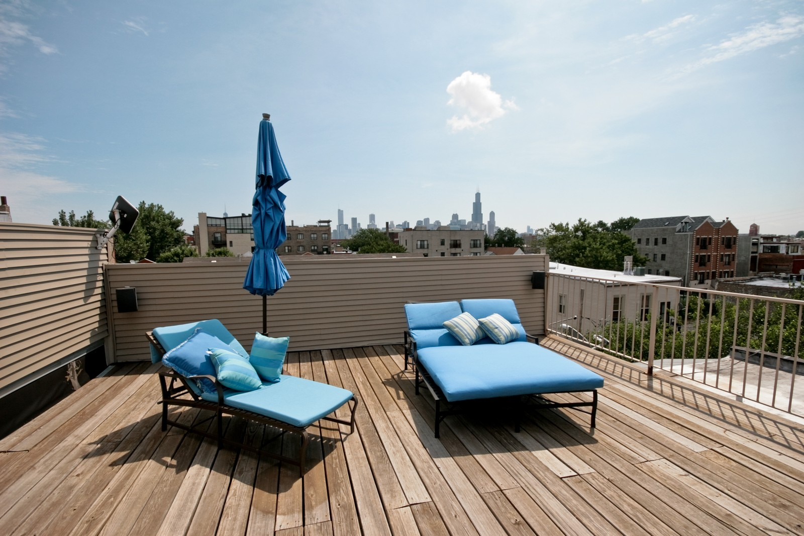 Real Estate Photography - 535 N Wood, Chicago, IL, 60622 - Roof Deck