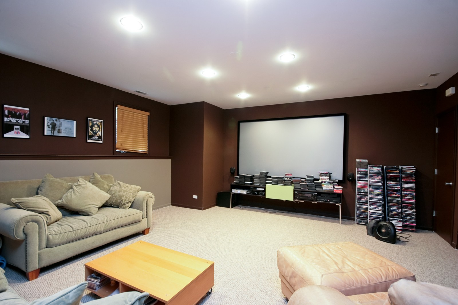 Real Estate Photography - 535 N Wood, Chicago, IL, 60622 - Theater