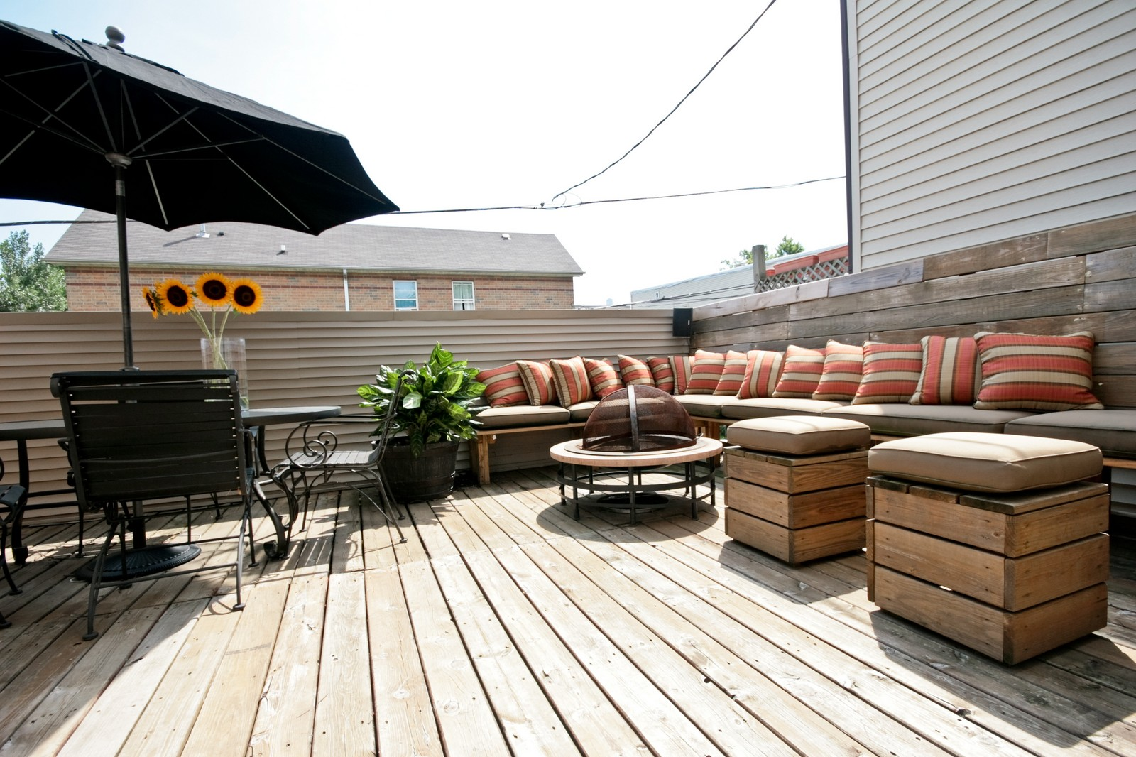 Real Estate Photography - 535 N Wood, Chicago, IL, 60622 - Deck