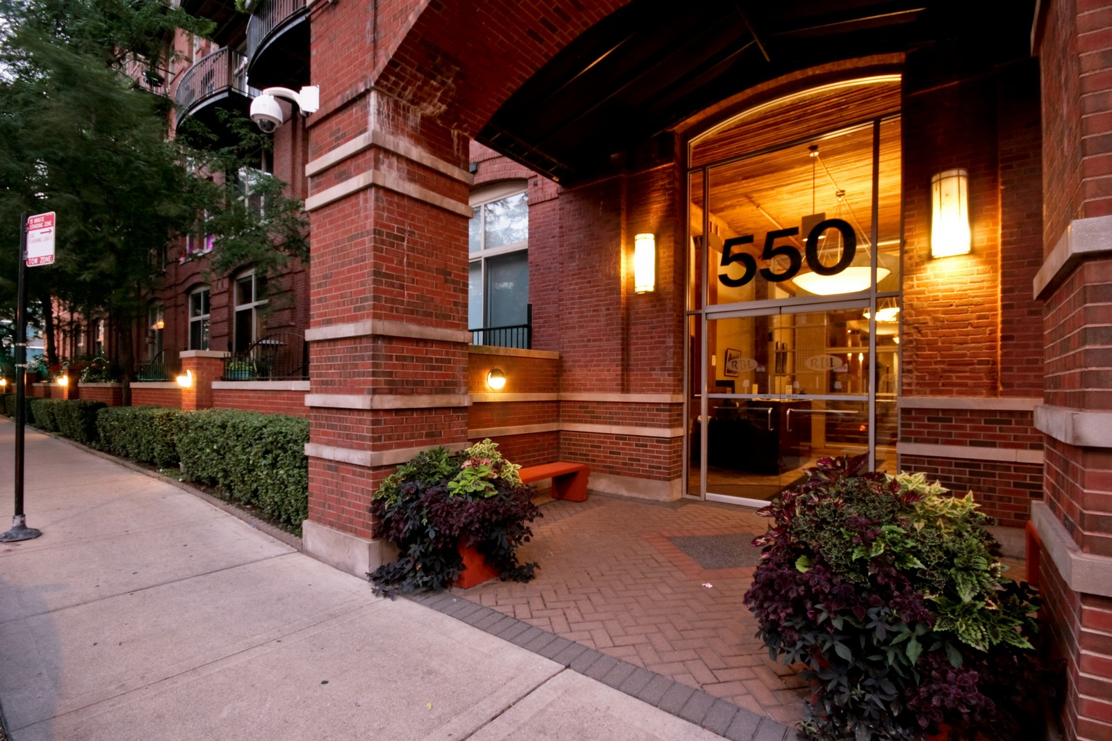 Real Estate Photography - 550 N Kingsburg, Unit 112, Chicago, IL, 60654 - Front View