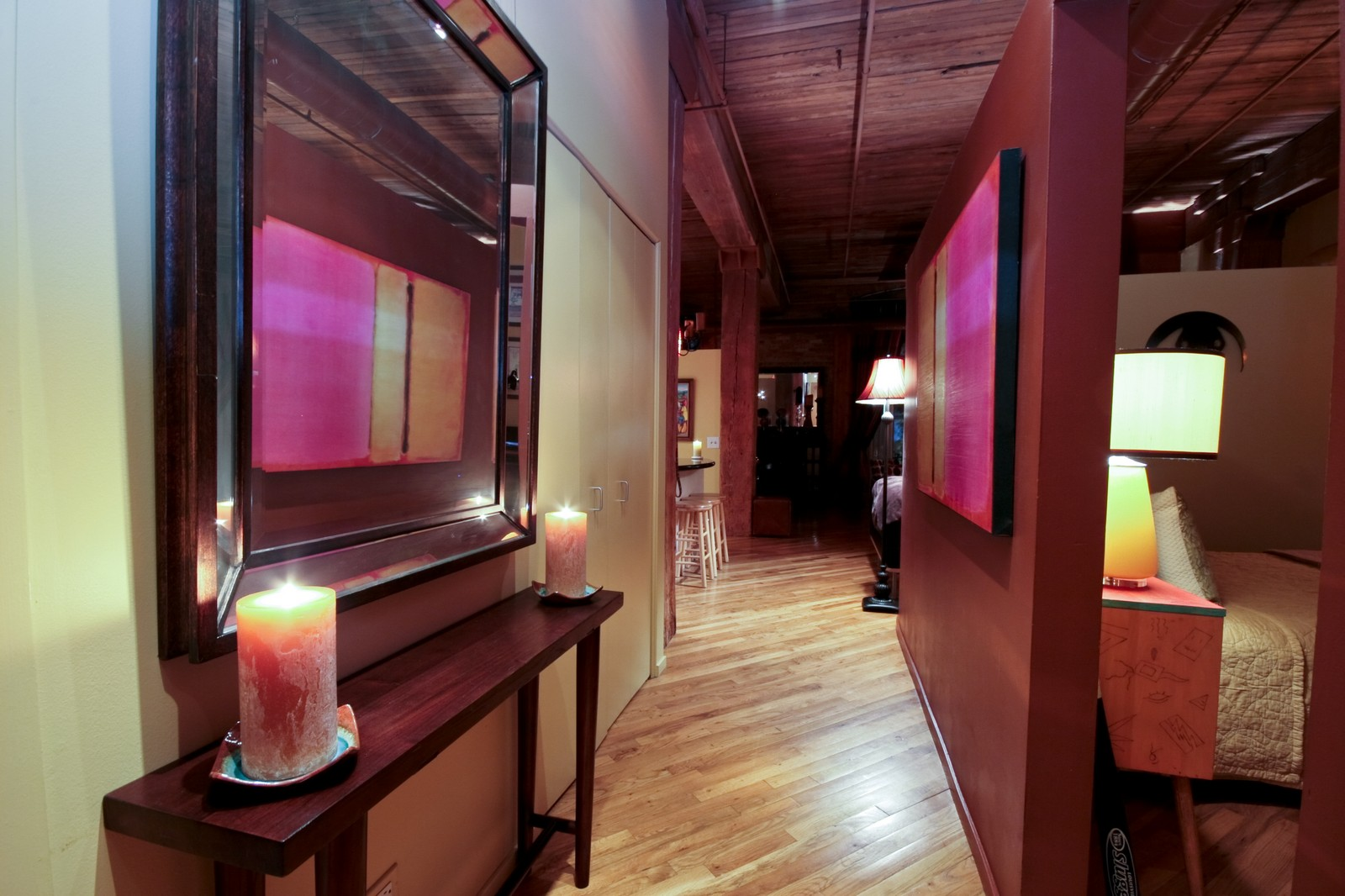 Real Estate Photography - 550 N Kingsburg, Unit 112, Chicago, IL, 60654 - Hallway
