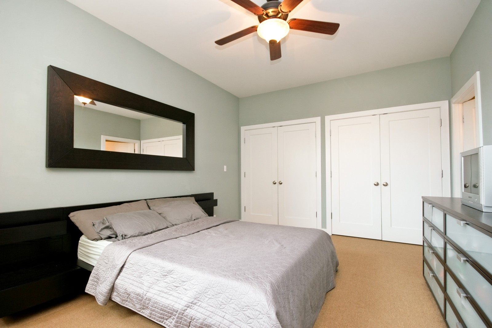Real Estate Photography - 3028 W Roscoe, Unit 305, Chicago, IL, 60618 - Master Bedroom