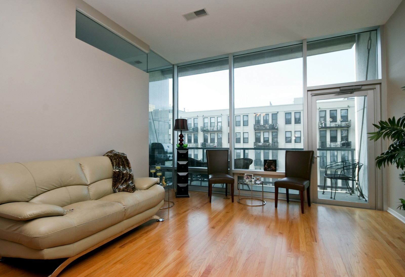 Real Estate Photography - 500 W Superior, Unit 701, Chicago, IL, 60654 - Living Room