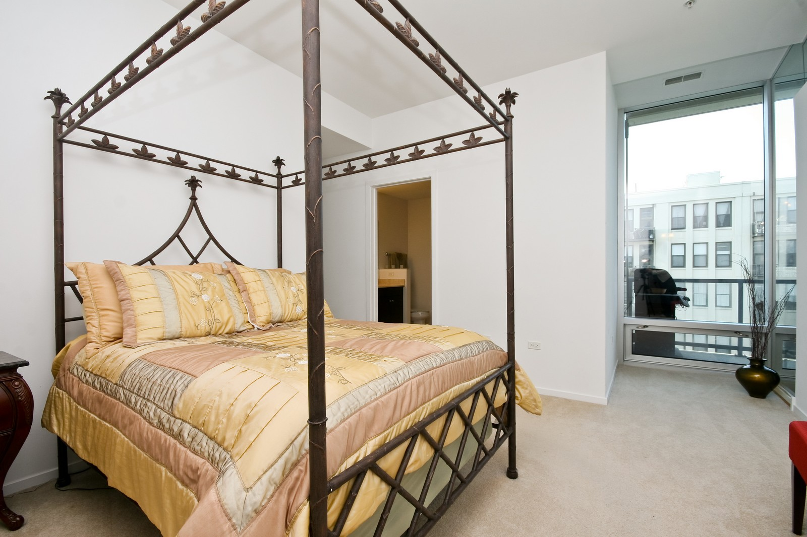 Real Estate Photography - 500 W Superior, Unit 701, Chicago, IL, 60654 - Master Bedroom