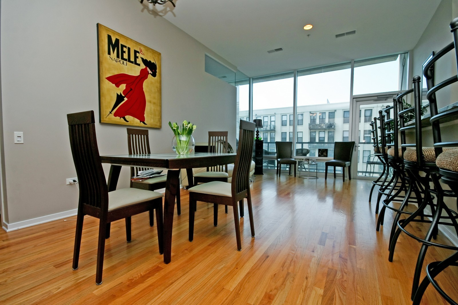 Real Estate Photography - 500 W Superior, Unit 701, Chicago, IL, 60654 - Dining Room