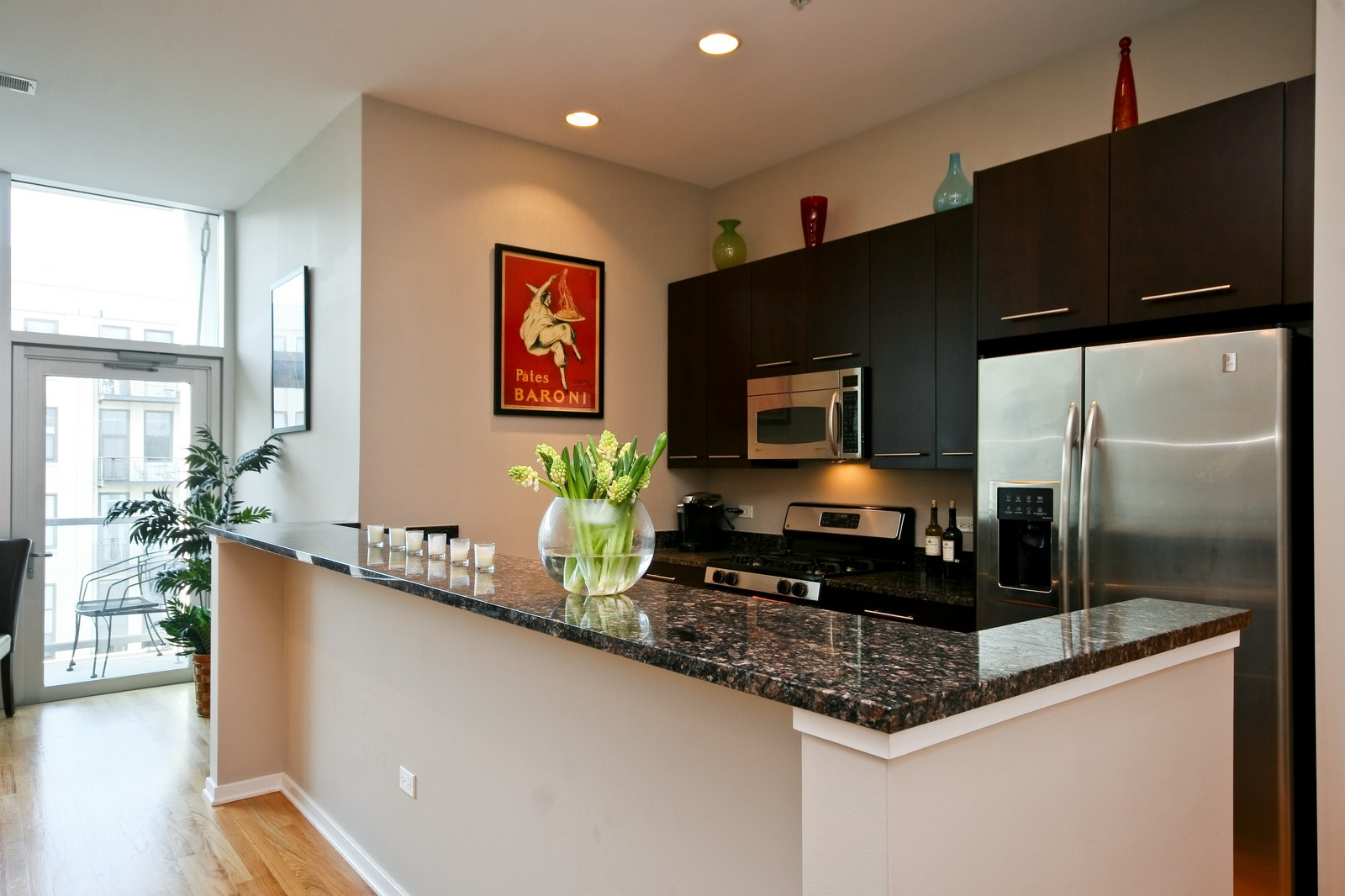 Real Estate Photography - 500 W Superior, Unit 701, Chicago, IL, 60654 - Kitchen