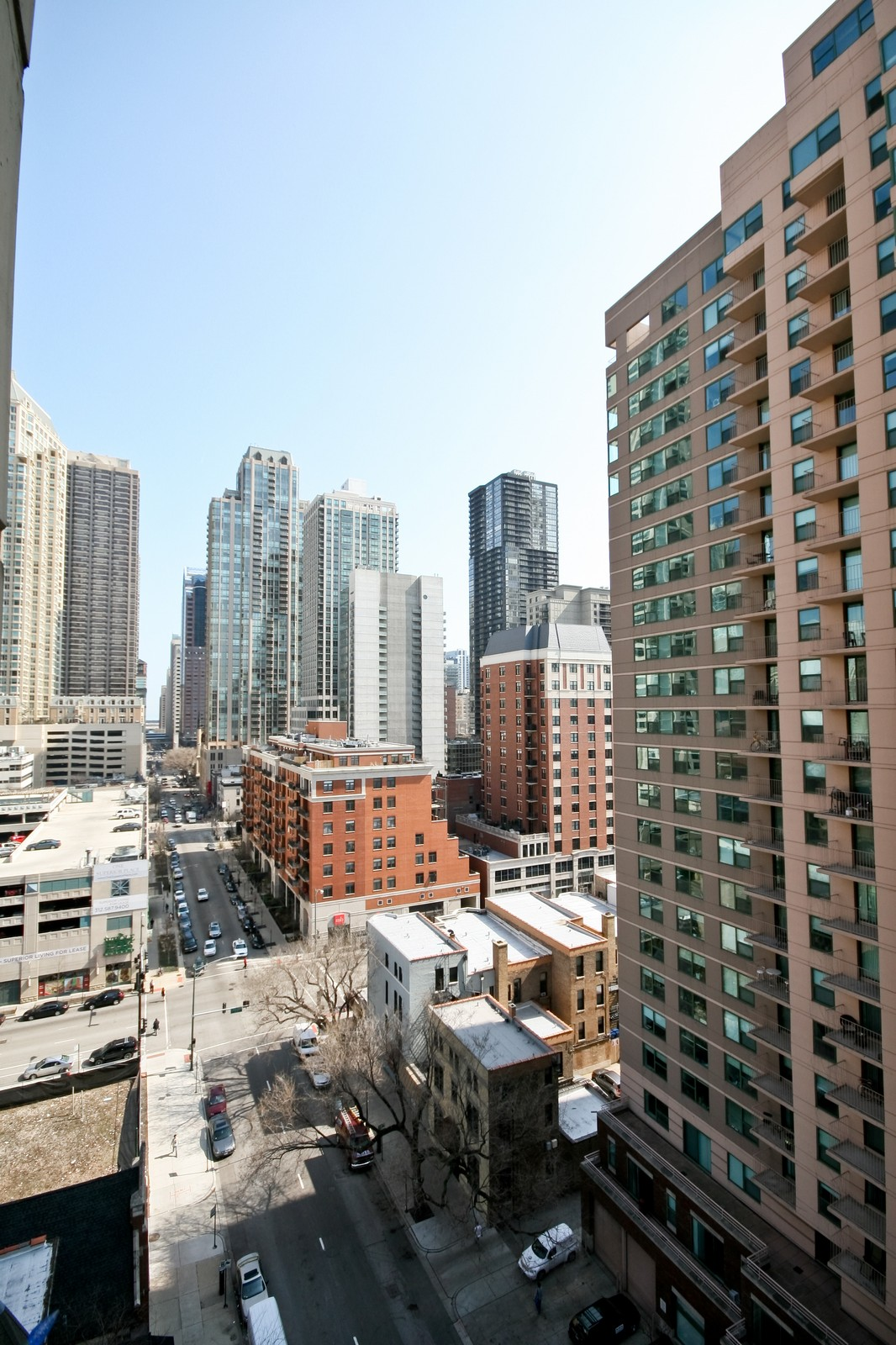Real Estate Photography - 70 W Huron, Unit 1308, Chicago, IL, 60610 - View